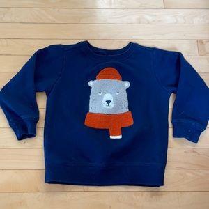 Carter's 4T Polar Bear Sweatshirt
